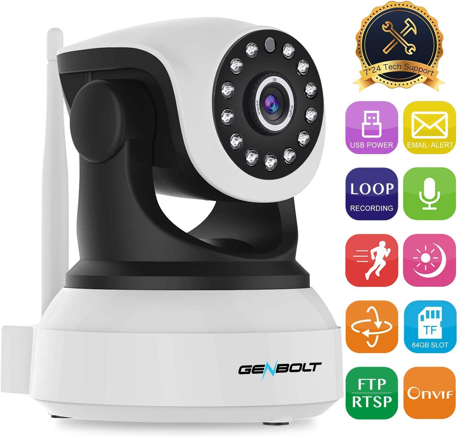 1080 wifi indoor camera UP TO 30% off , after discount £20.39