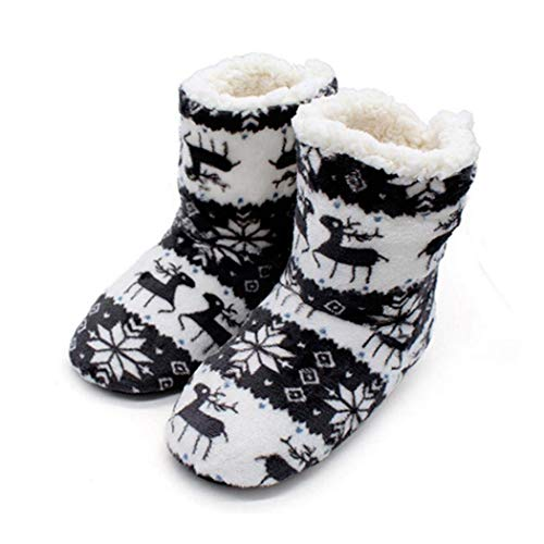 70% off Warm Coral Fleece Soft Christmas Boots Slippers