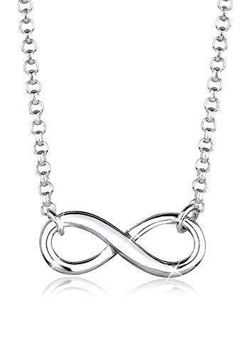 Elli Women's 925 Sterling Silver Infinity Symbol Pendant Love Friendship Necklace