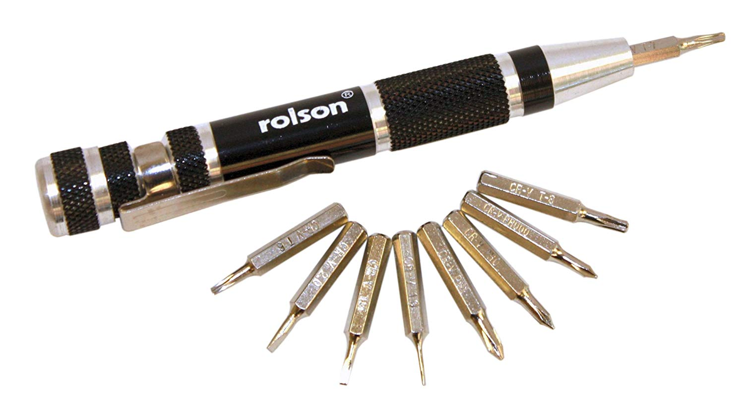 Rolson 9-in-1 Precision Screwdriver Only £1.86