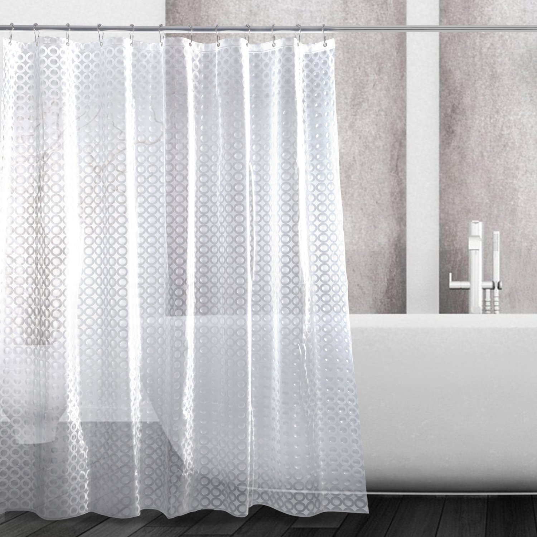3D Shower Curtain Waterproof Antifungal EVA Shower Curtain