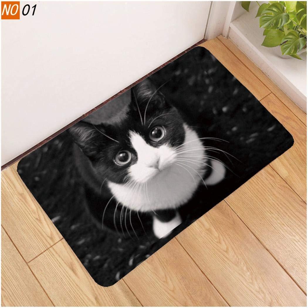 Cats Memory Foam Anti-slip Rugs