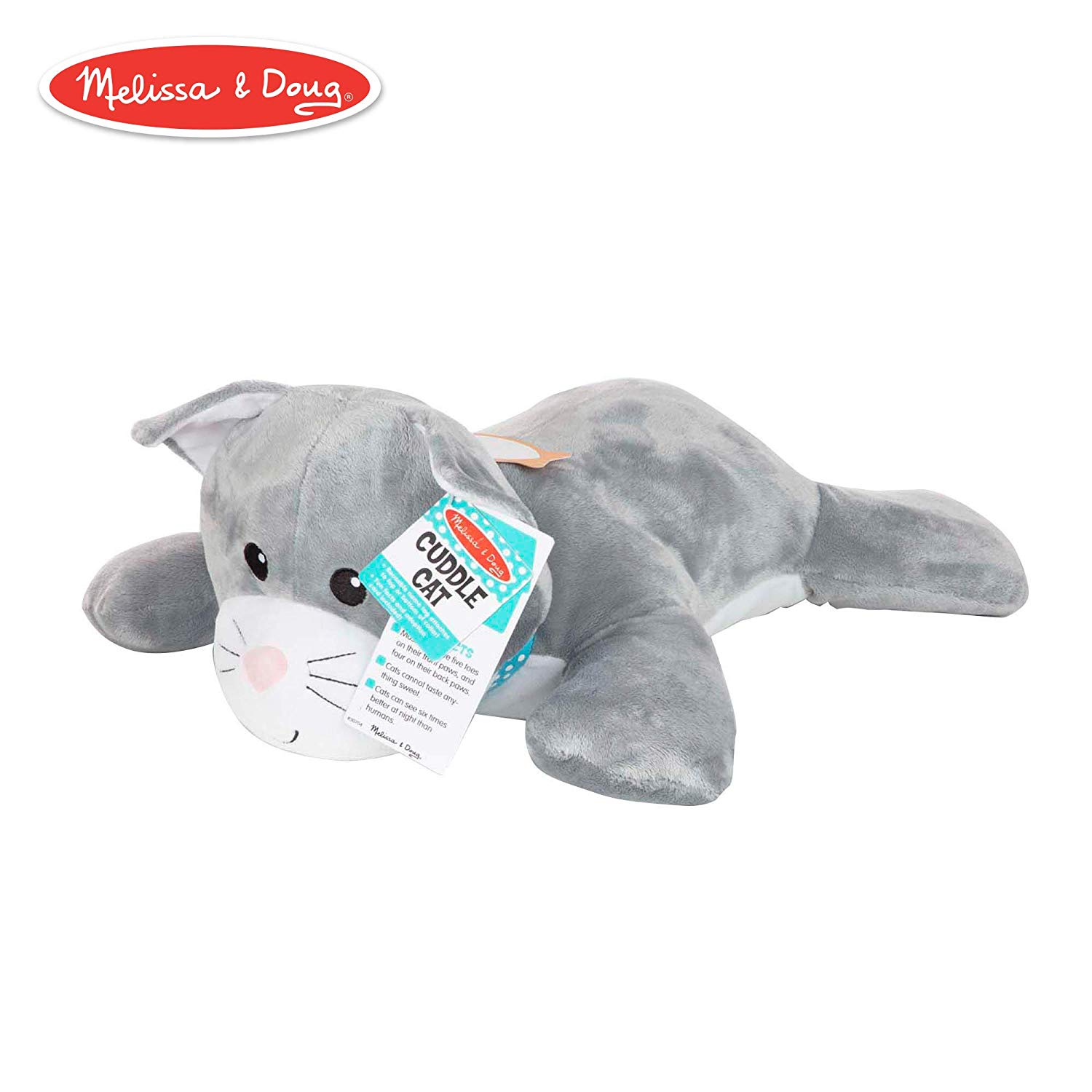 61% off Melissa & Doug Puppets Cuddle Cat Jumbo Plush Stuffed Animal £7.81 Amazon Prime +£4.49 Non Prime