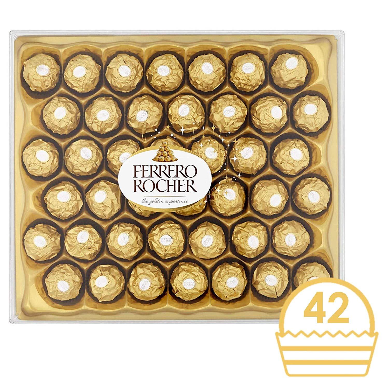 Ferrero Rocher Chocolate Gift Set, Box of 42 Pieces
