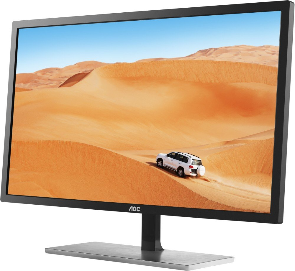 AOC 31.5″ IPS LED QHD (2560×1440) Freesync 75Hz monitor. (VGA, DVI, HDMI, DisplayPort)