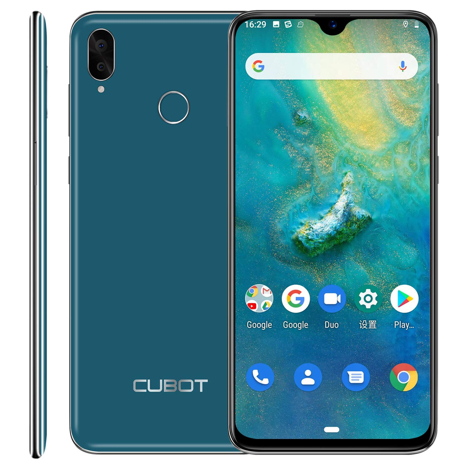 CUBOT R15 Pro 4G SIM Free Moible Phone, 6.2-Inch Dewdrop Full-screen Smartphone Unlocked, Android 9.0 for £79.99