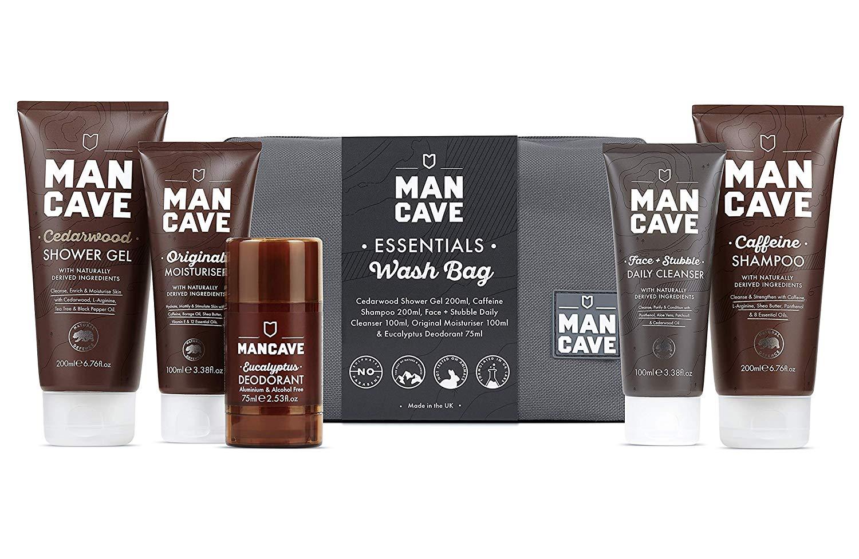 ManCave Essentials Wash Bag Set – Amazon Exclusive