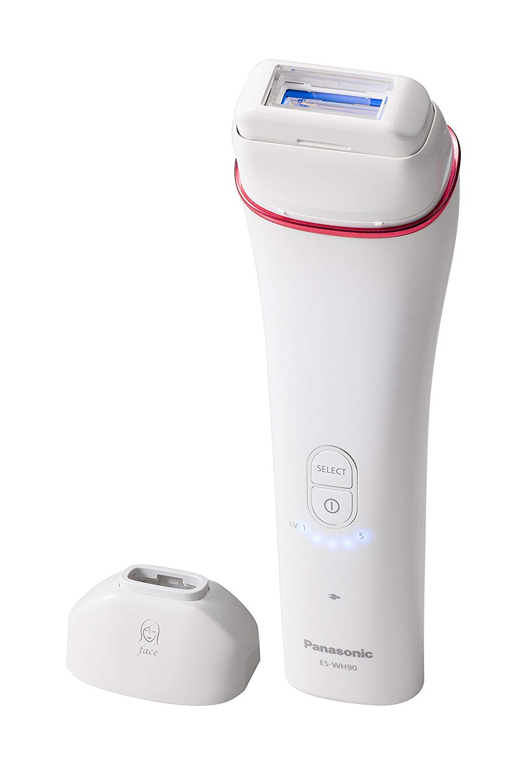 Panasonic ES-WH90 Cordless IPL Hair Removal System with Facial attachment Up to 70% OFF