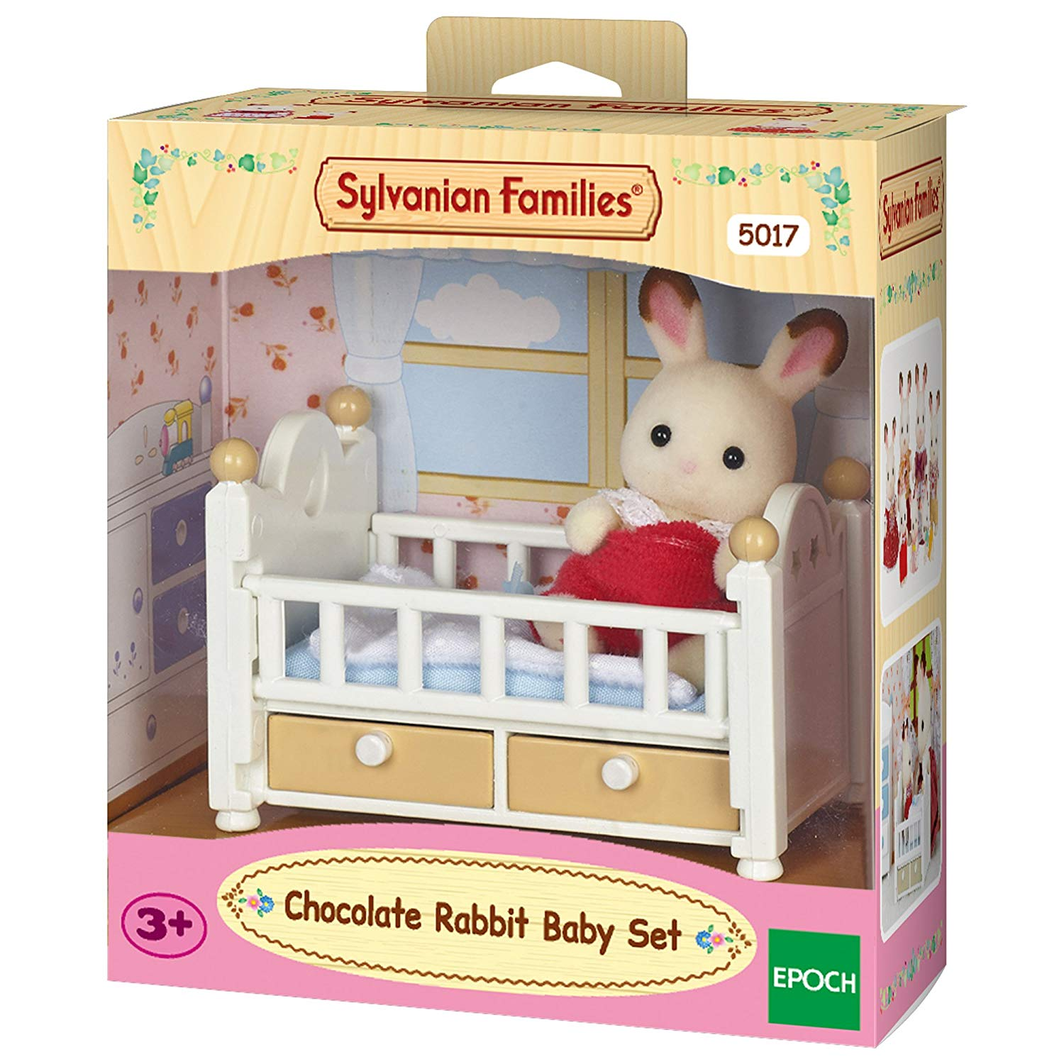 Sylvanian Families – Chocolate Rabbit Baby Set £6 Amazon Prime