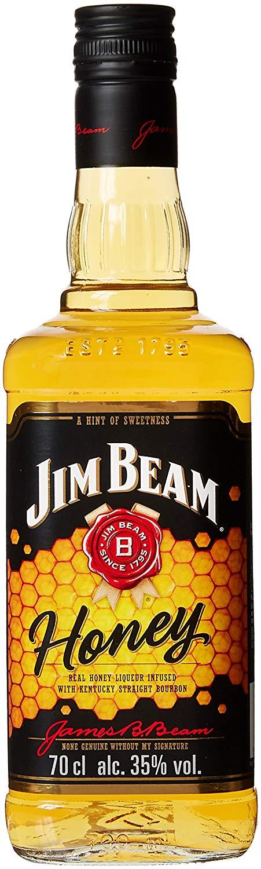 Jim Beam Honey Bourbon Whiskey, 70 cl for £13 Amazon Prime Members Only