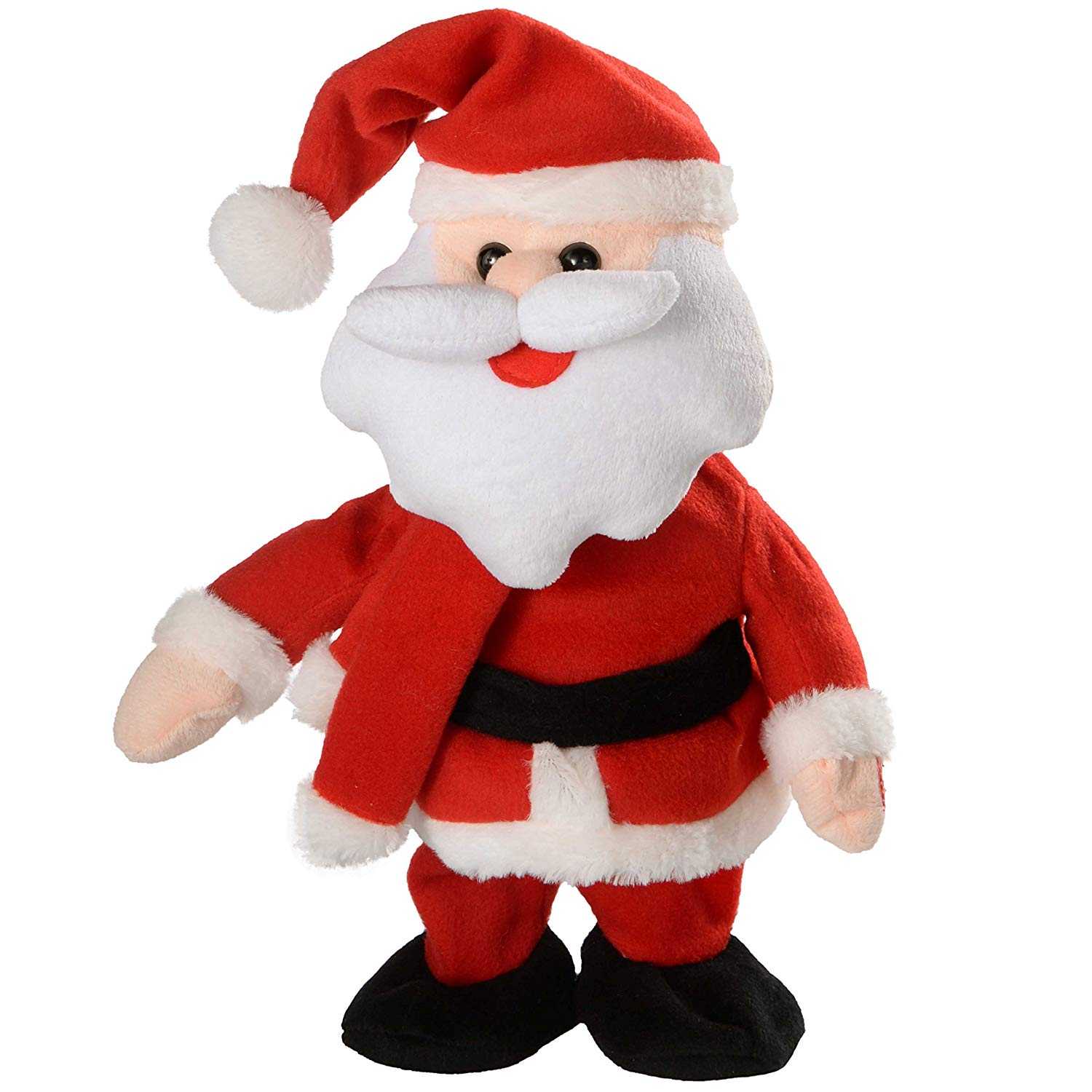 70% off Walking/Dancing and Singing Santa Christmas Decoration, 30 cm