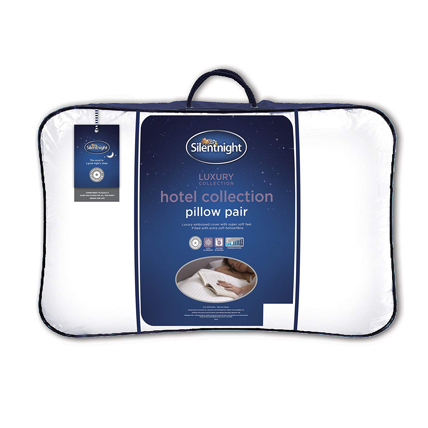 Silentnight Hotel Collection Pillow – Pack of 2 for £12 at Amazon