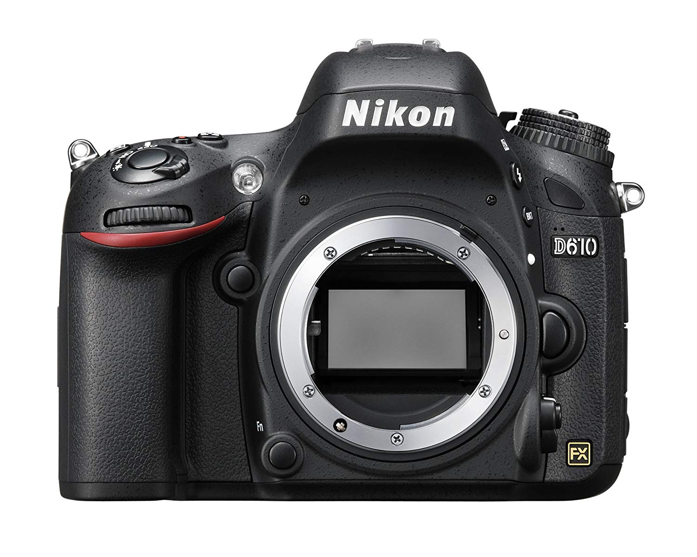 Save £860.99 on Nikon D610 Digital SLR Camera (24.3MP) 3.2 inch LCD