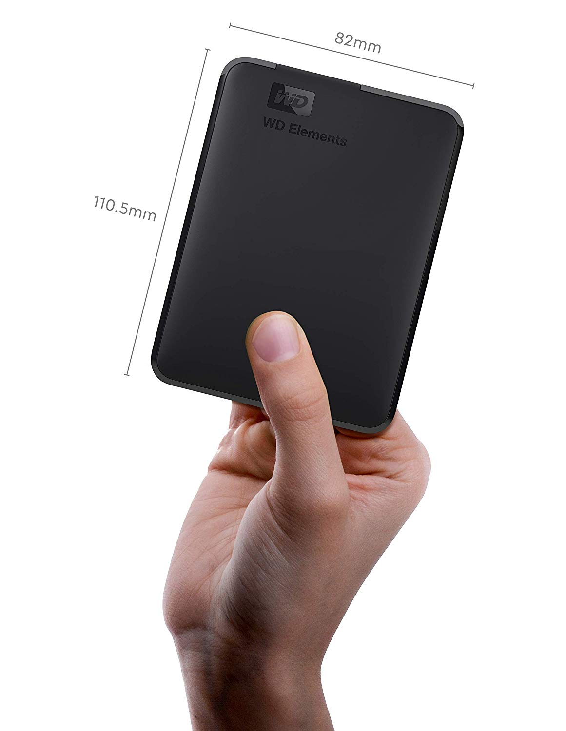 19% off WD 5TB Elements Portable External Hard Drive, USB 3.0